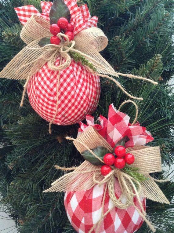 Immagini Palle Di Natale.Palle Di Natale Fatte A Mano
